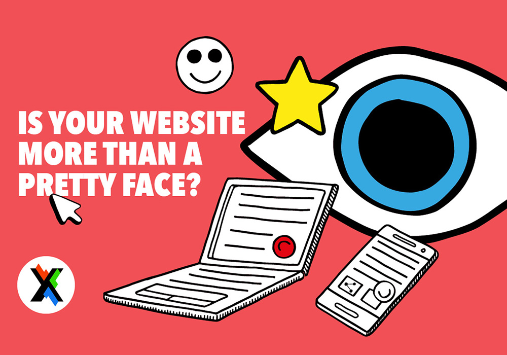 user-experience – functionality over form for business website design.